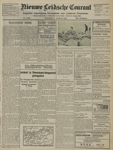 Nieuwe Leidsche Courant 1939-01-07