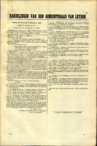 Handelingen van de Raad 1868-09-12