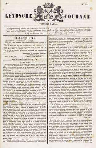 Leydse Courant 1869-07-07