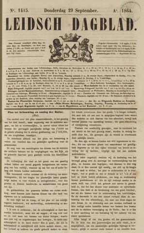 Leidsch Dagblad 1864-09-29