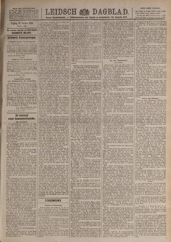 Leidsch Dagblad 1920-10-29