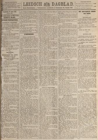 Leidsch Dagblad 1921-04-21