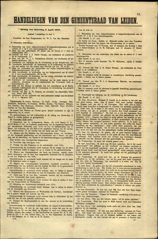 Handelingen van de Raad 1875-04-03