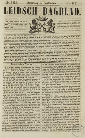 Leidsch Dagblad 1863-09-19