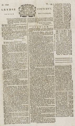 Leydse Courant 1820-11-17