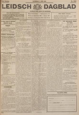 Leidsch Dagblad 1930-06-07