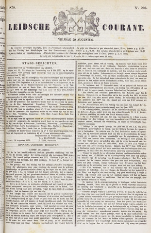 Leydse Courant 1879-08-29