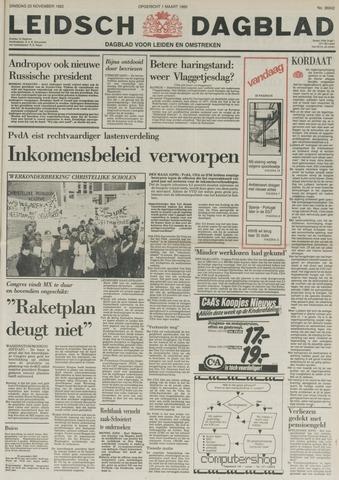 Leidsch Dagblad 1982-11-23