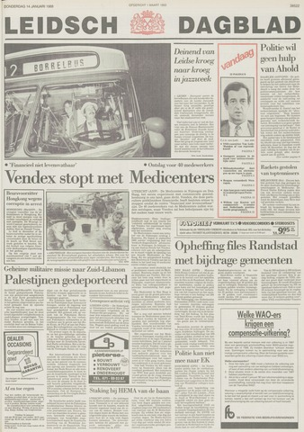 Leidsch Dagblad 1988-01-14