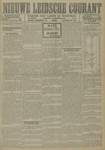 Nieuwe Leidsche Courant 1921-12-24