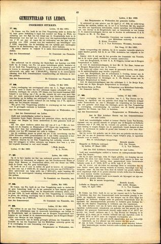 Handelingen van de Raad 1883-05-12