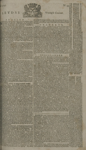 Leydse Courant 1745-04-09