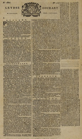Leydse Courant 1807-10-07