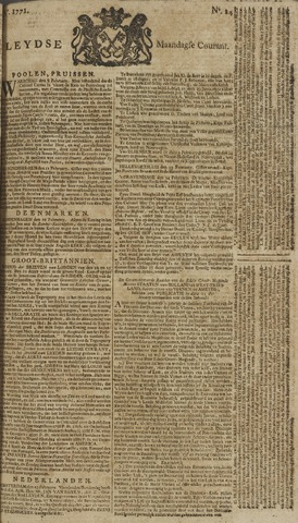 Leydse Courant 1771-02-25