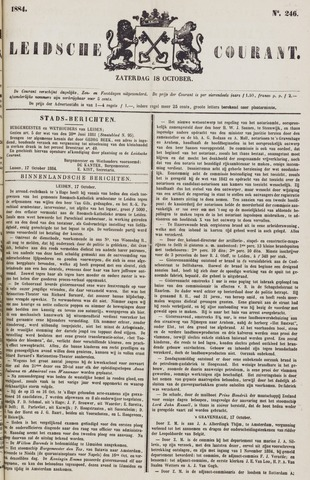 Leydse Courant 1884-10-18