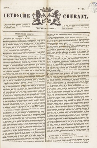 Leydse Courant 1862-03-05