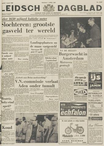 Leidsch Dagblad 1967-04-07