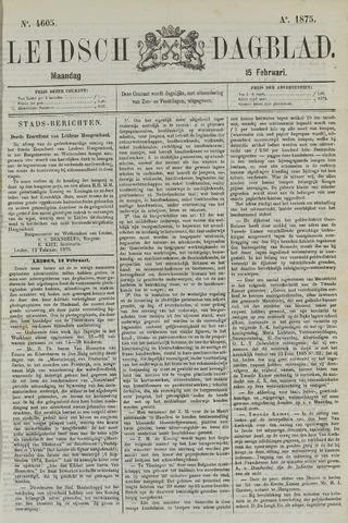 Leidsch Dagblad 1875-02-15