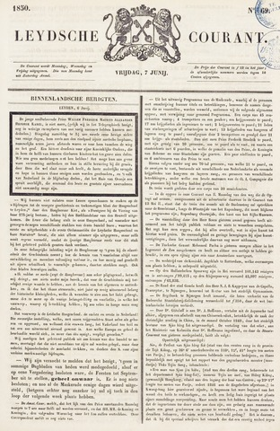 Leydse Courant 1850-06-07