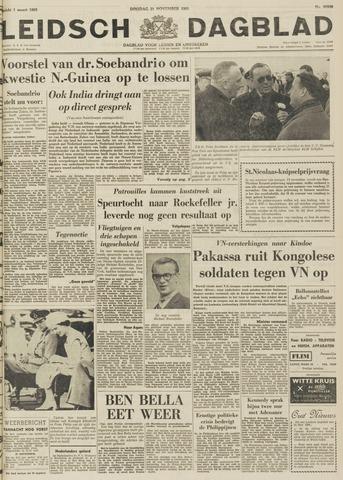 Leidsch Dagblad 1961-11-21