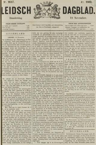 Leidsch Dagblad 1868-11-12