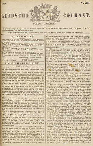 Leydse Courant 1883-11-06