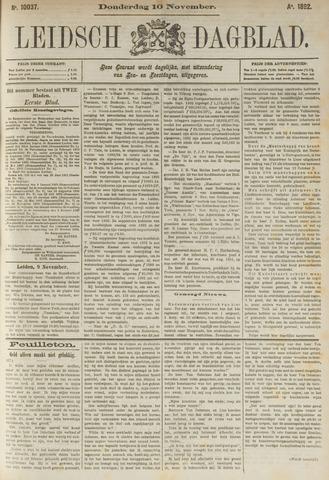Leidsch Dagblad 1892-11-10