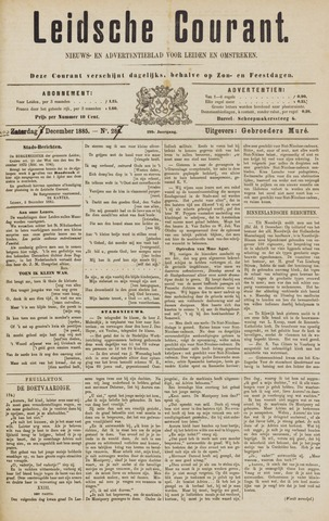 Leydse Courant 1885-12-07