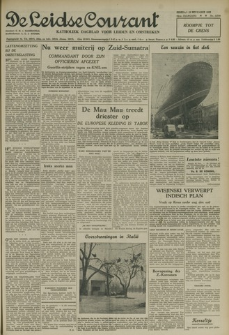 Leidse Courant 1952-11-25