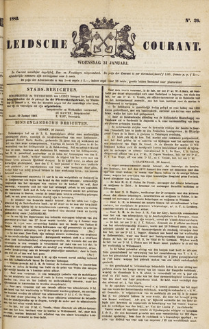 Leydse Courant 1883-01-31