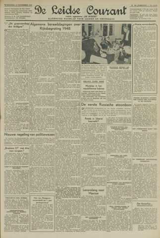 Leidse Courant 1947-11-12