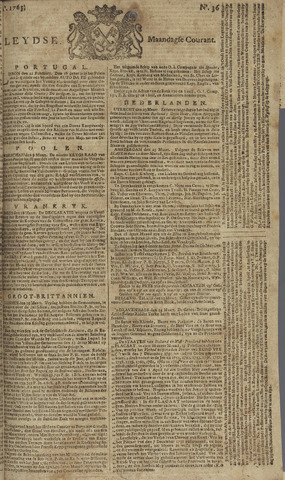 Leydse Courant 1765-03-25