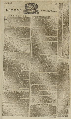 Leydse Courant 1754-01-16