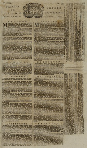 Leydse Courant 1811-04-01