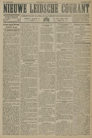 Nieuwe Leidsche Courant 1927-08-31