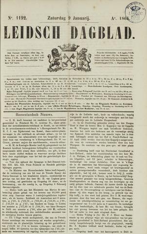 Leidsch Dagblad 1864-01-09