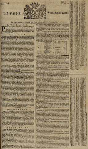 Leydse Courant 1778-10-14