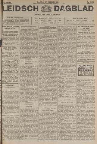 Leidsch Dagblad 1933-02-27