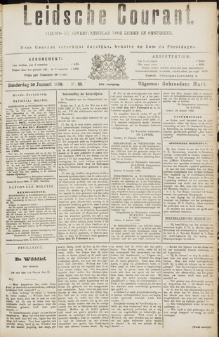 Leydse Courant 1890-01-30