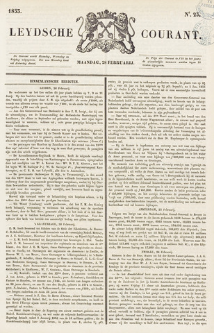 Leydse Courant 1853-02-28