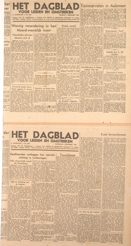 Dagblad voor Leiden en Omstreken 1944-12-02