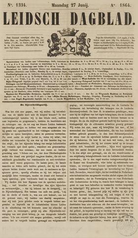 Leidsch Dagblad 1864-06-27