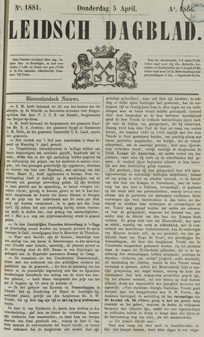 Leidsch Dagblad 1866-04-05
