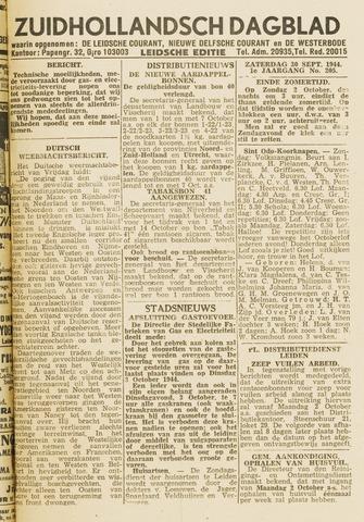Zuidhollandsch Dagblad 1944-09-30