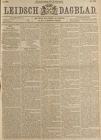 Leidsch Dagblad 1899-02-23