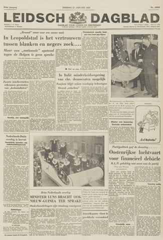 Leidsch Dagblad 1959-01-27
