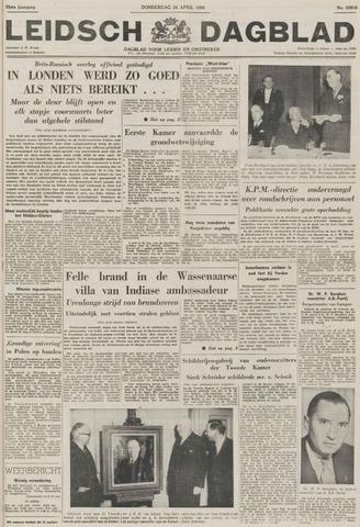 Leidsch Dagblad 1956-04-26