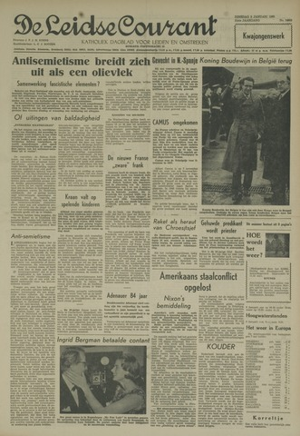 Leidse Courant 1960-01-05