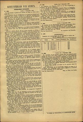 Handelingen van de Raad 1889-09-02