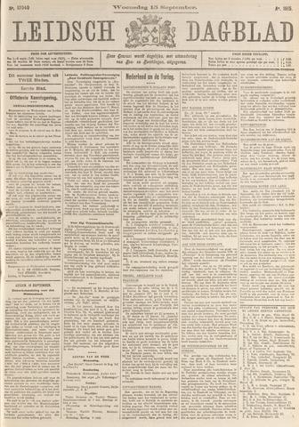 Leidsch Dagblad 1915-09-15